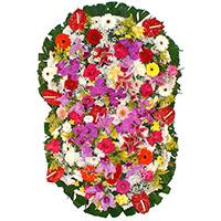 Floricultura - Coroa de Flores Prime Colorida