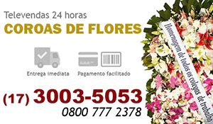 Coroa de Flores Monte Azul Paulista