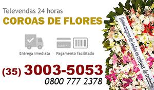 Coroa de Flores Pouso Alegre
