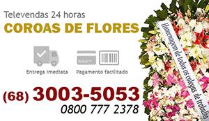 Coroa de Flores Manoel Urbano