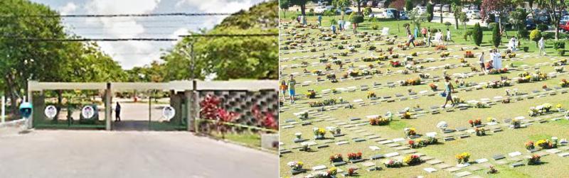 Cemitério Parque das Flores Recife/PE