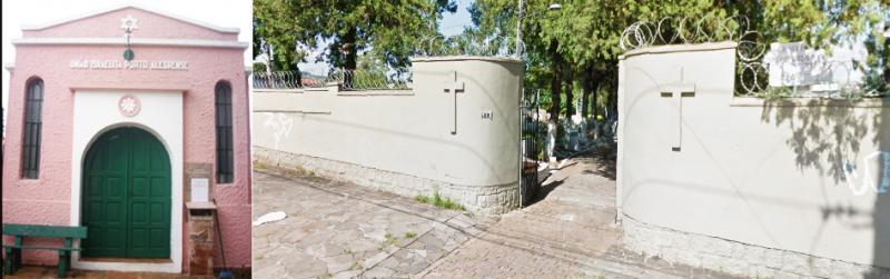 Cemitério União Israelita Rio Grande do Sul/RS
