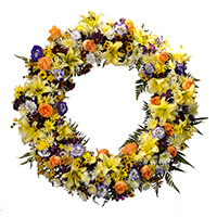 Floricultura - Coroa de Flores Americana I