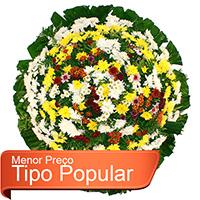 Floricultura - Coroa de Flores Popular
